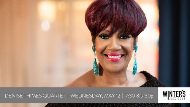 Denise Thimes Quartet at Winter's Jazz Club